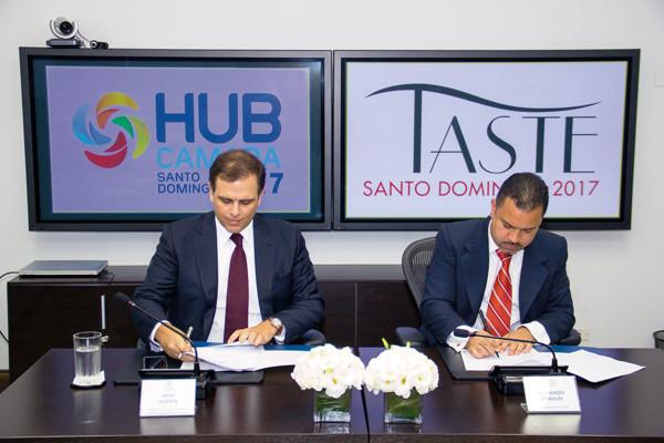 HUB Cámara Santo Domingo y TASTE se unen en el 2017