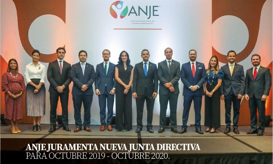 ANJE juramentó la nueva Junta Directiva para el período octubre 2019 a octubre del año 2020.