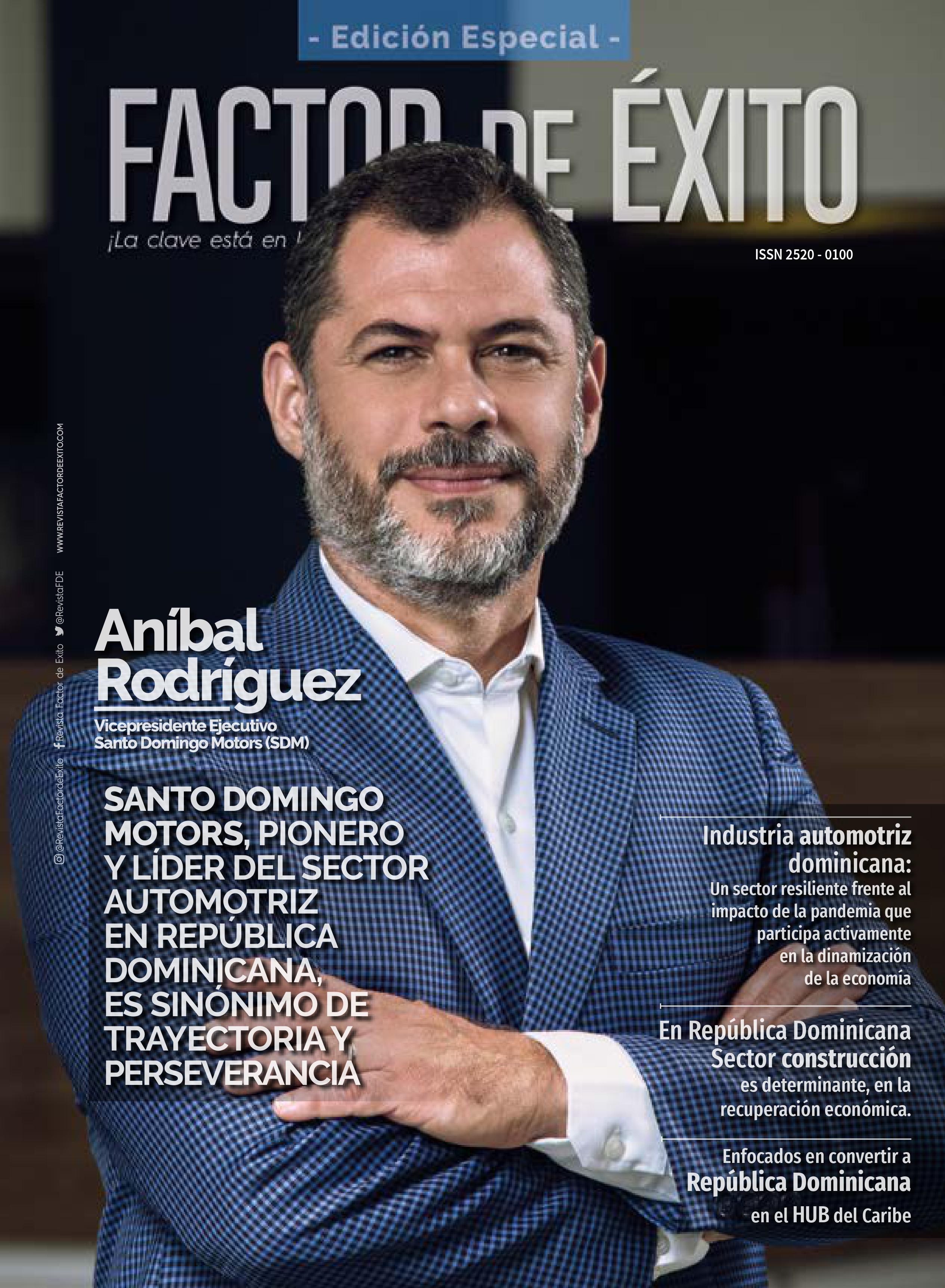 Revista Factor de Éxito - Edición Especial . Sectores claves para el reimpulso económico
