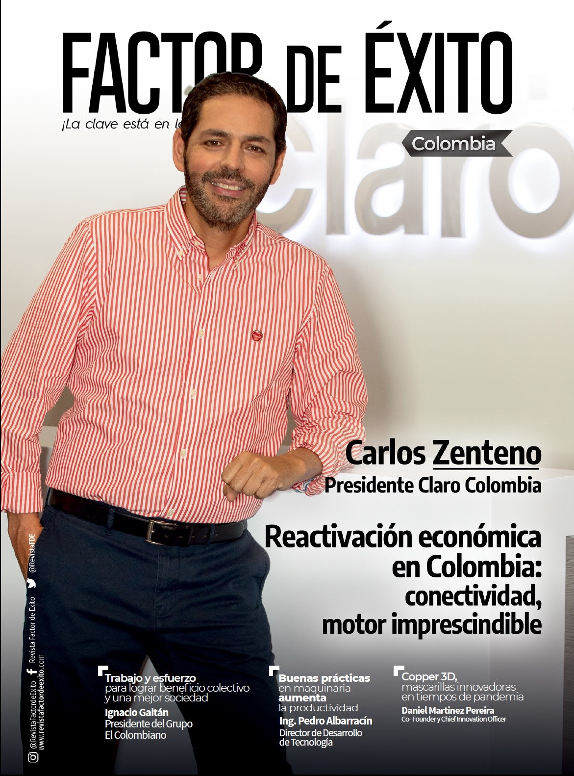 Revista Factor de Éxito Colombia-edición #2