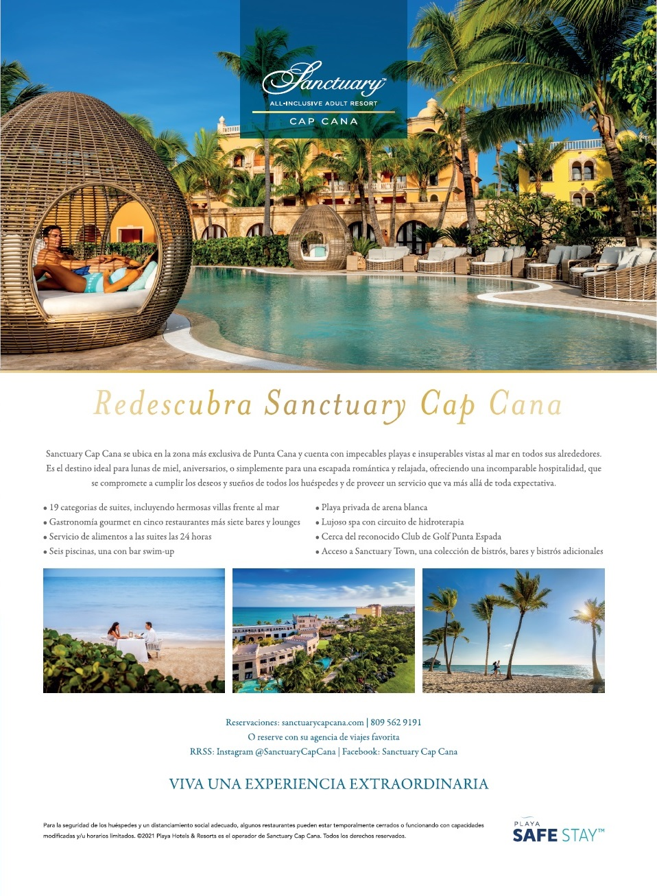 Sanctuary Cap Cana by Playa - Hotels & Resorts