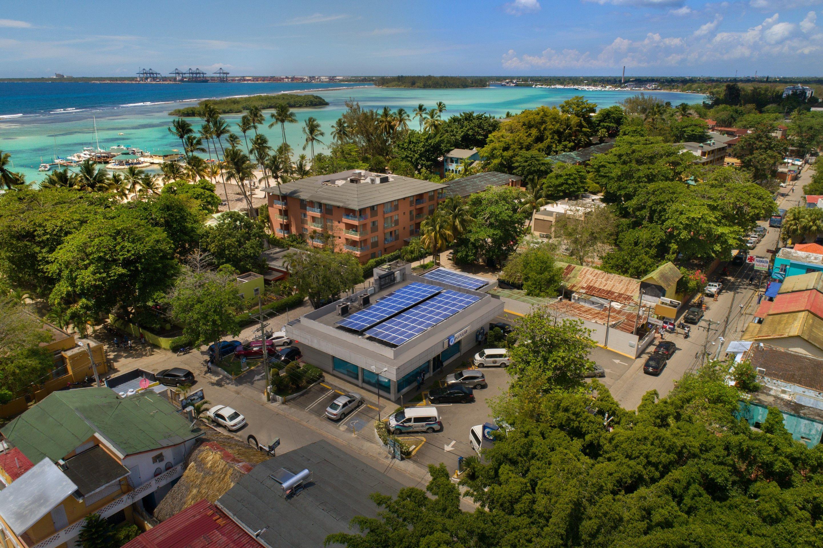El Popular es la primera institución dominicana que más energía solar genera