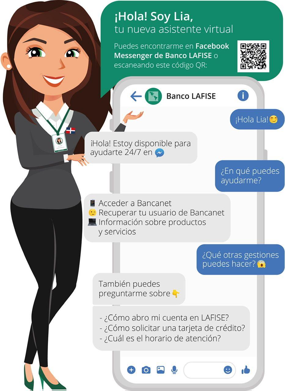 <p><strong>Banco LAFISE presenta a L&iacute;a, su nueva asistente virtual</strong></p>