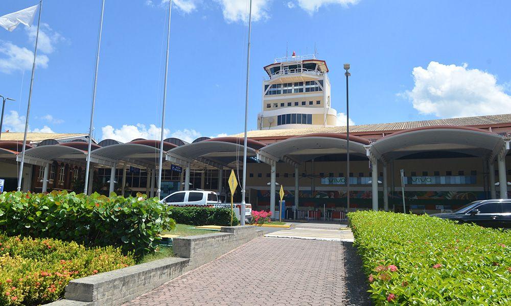 <p>Aeropuerto Cibao es acreditado por esfuerzos de descarbonizaci&oacute;n</p>