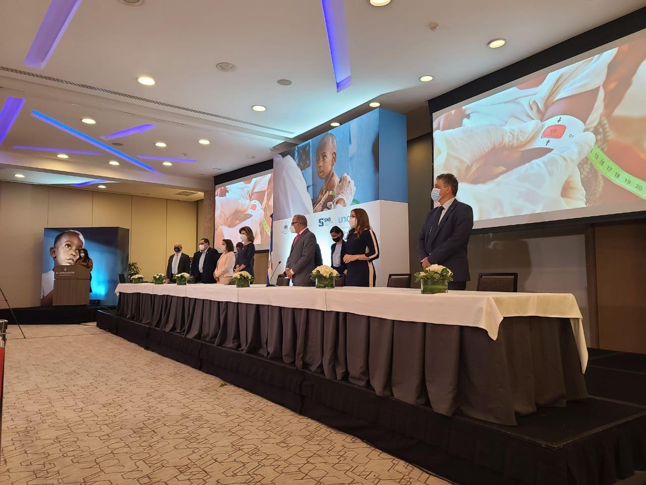 <p>Vicepresidencia, MSP, SNS y UNICEF presentan Plan Nacional para la Reducci&oacute;n de la Desnutrici&oacute;n Aguda</p>