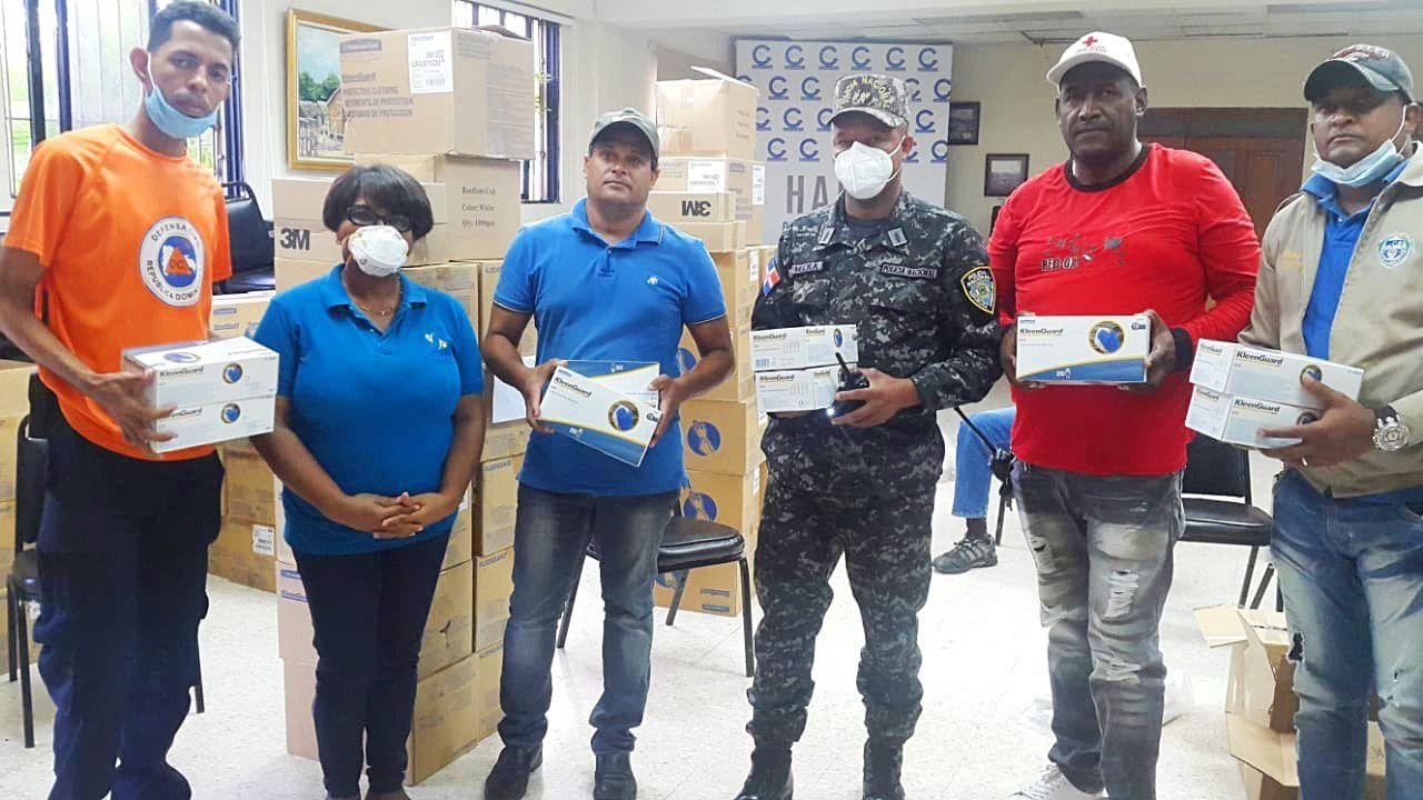 Fundación AES Dominicana inicia apoyo ante la pandemia Covid-19 a varias comunidades
