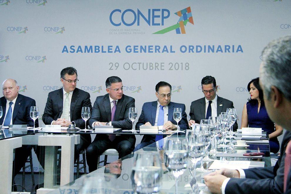 <p>Conep escoger&aacute; pr&oacute;ximamente a su nueva Junta Directiva</p>