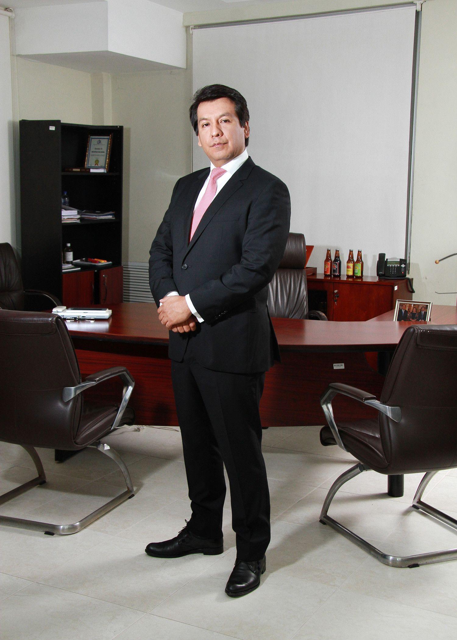 Arturo Marroquín. Gerente General del Grupo Industrias San Miguel.