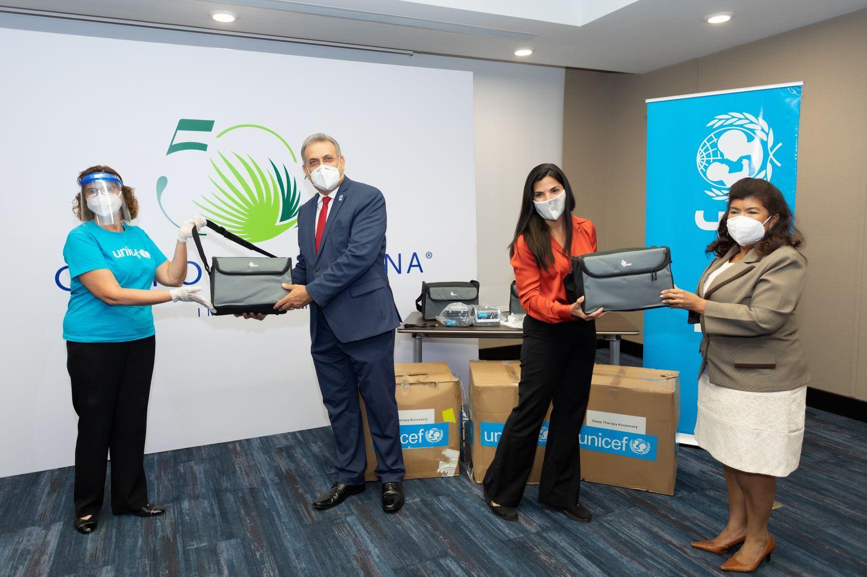 <p>UNICEF y el Grupo Puntacana entregan cuatro ventiladores al Servicio Regional de Salud Este</p>