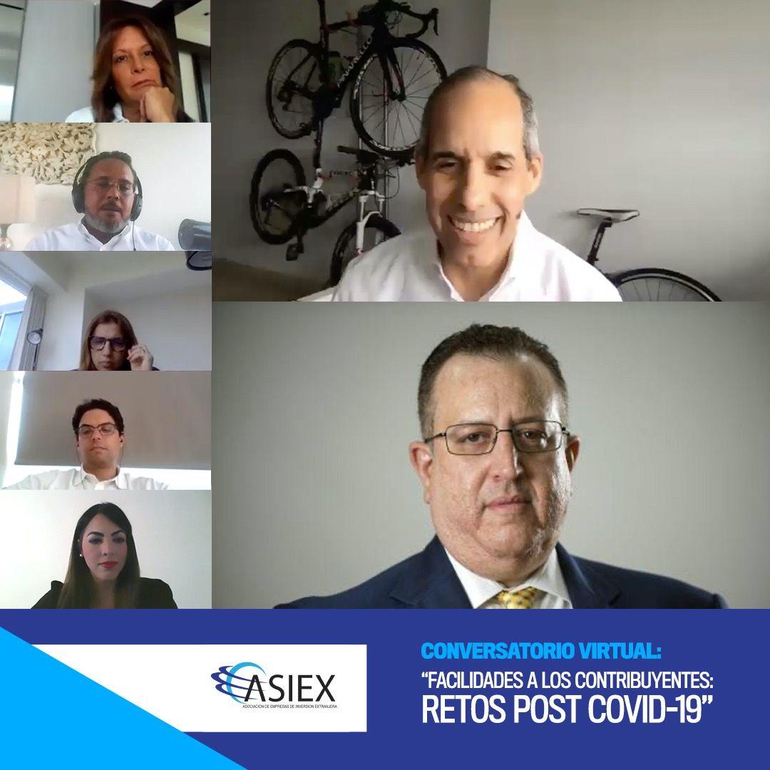 ASIEX Y LA DGII ABORDAN FACILIDADES A LOS CONTRIBUYENTES ANTE PANDEMIA POR COVID-19.-