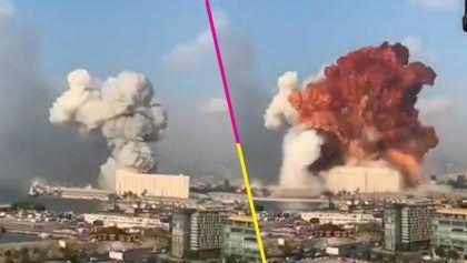 <p>Beirut se tambalea por una gran explosi&oacute;n, mientras el n&uacute;mero de muertos asciende a al menos 113</p>