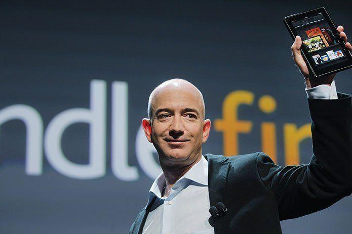 <p>Jeff Bezos se convierte en la primera persona del mundo con una fortuna de 200.000 millones</p>