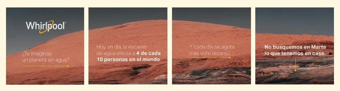 <p>Anuncia campa&ntilde;a de concientizaci&oacute;n&nbsp;sobre el uso del agua con fotos de Marte</p>