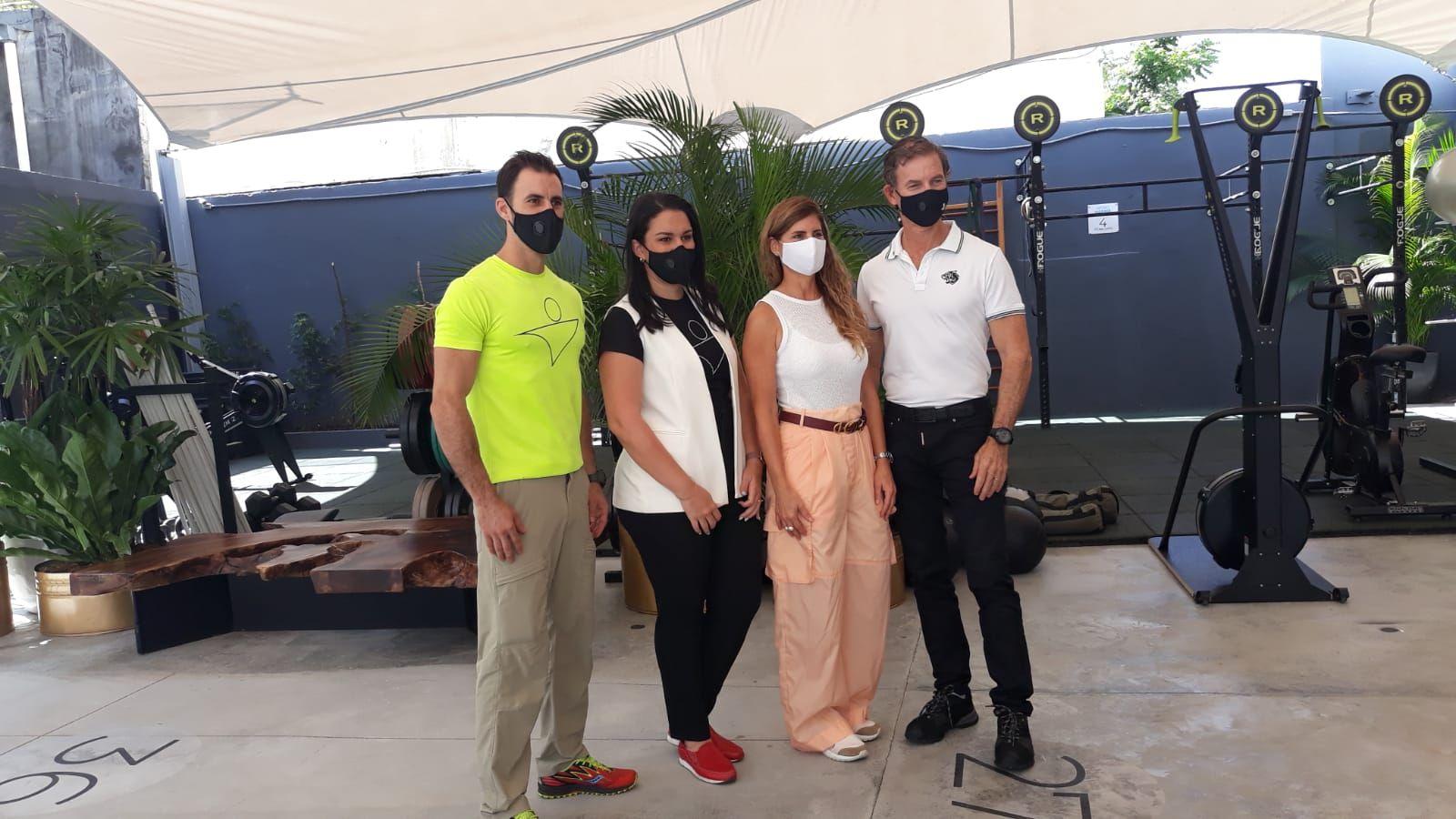 <p>Club Body Shop inaugura espacios al aire libre para el entrenamiento seguro</p>