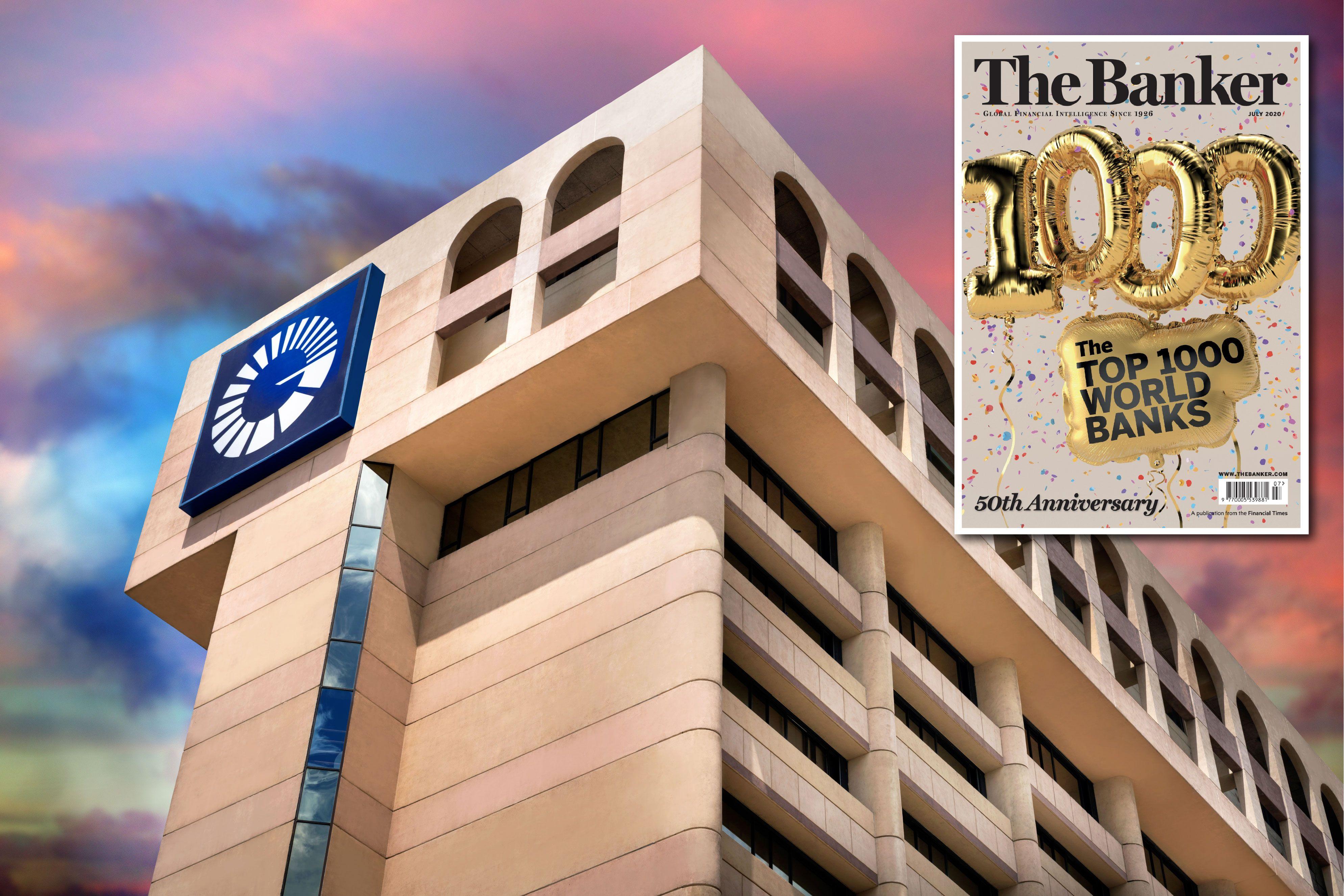 <p>Popular escala 57 posiciones en la lista de los 1,000 mejores bancos del mundo</p>