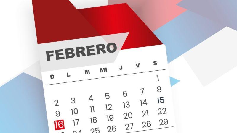 El domingo 16 de febrero y el 17 de mayo son feriados por las elecciones