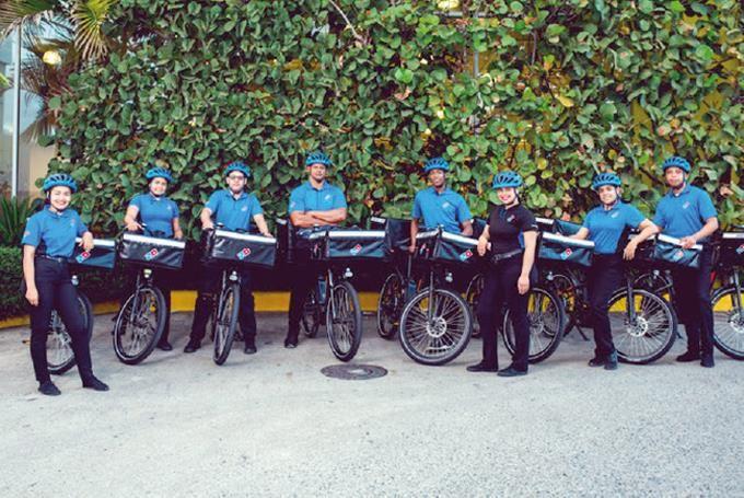 <p>Domino&acute;s Pizza RD celebra el d&iacute;a Mundial de la Bicicleta&nbsp;</p>