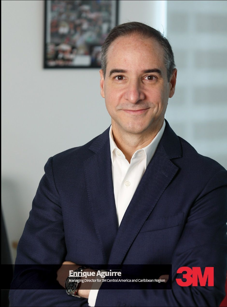 Enrique Aguirre Managing Director for 3M Central America and Caribbean Region