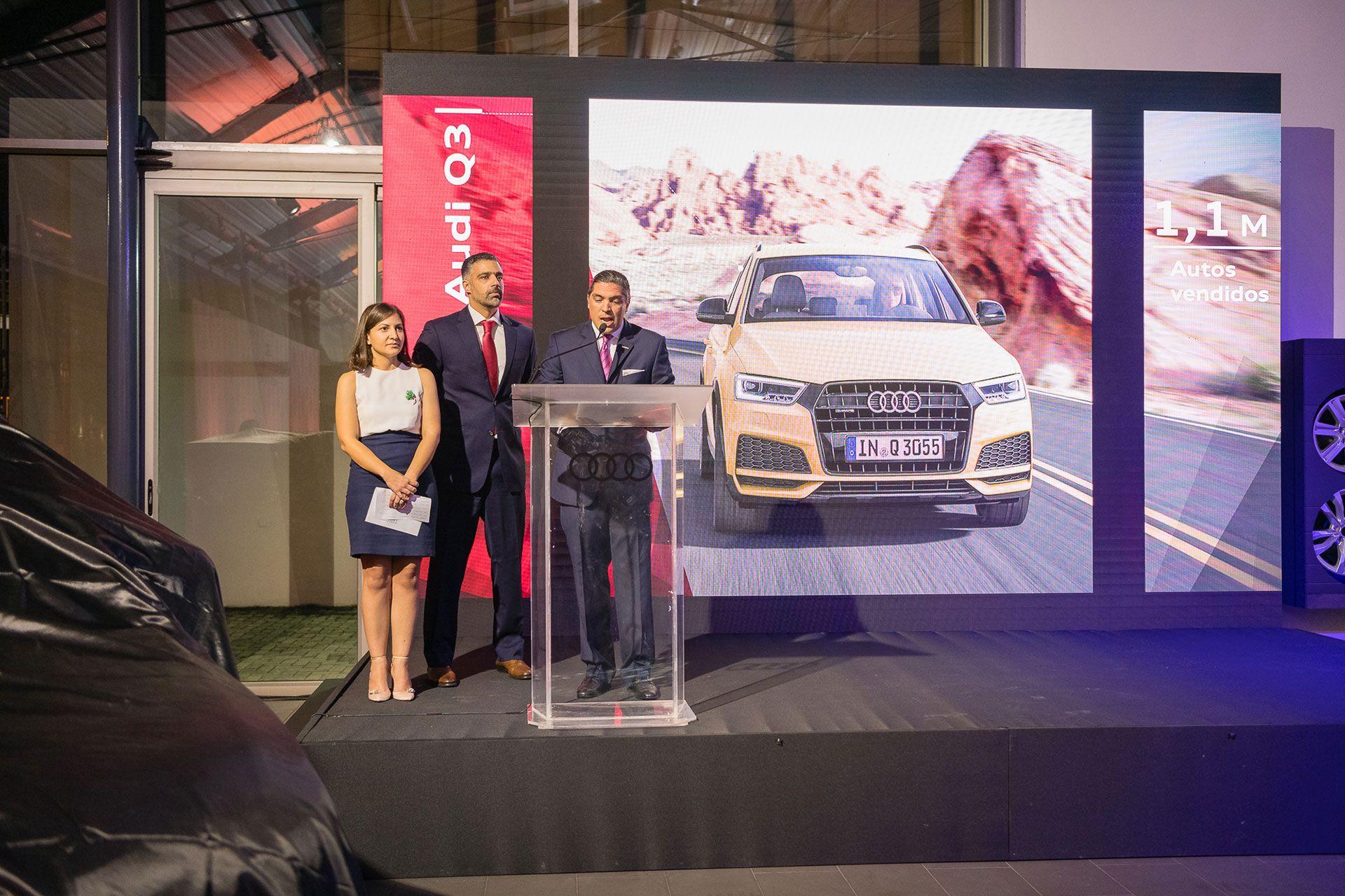 <p><strong>Avelino Abreu presenta el nuevo Audi Q3 Sportback</strong></p>