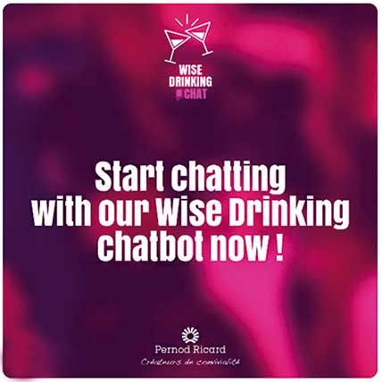 Pernod Ricard Introduce El Primer Chatbot para Facebook Messenger dedicado al Consumo Responsable