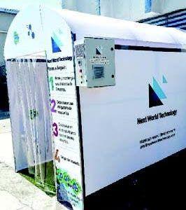 Traen túneles de sanitización ozono