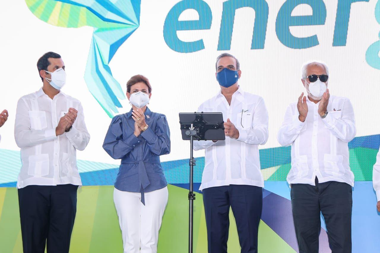 <p><strong>Abinader realiza encendido de 300 MW a gas natural en San Pedro de Macor&iacute;s </strong></p>