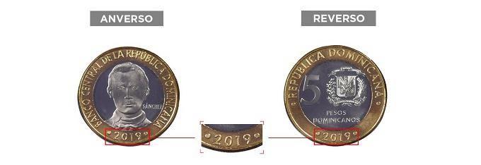 <p>Banco Central pone a circular nueva moneda de RD$5</p>