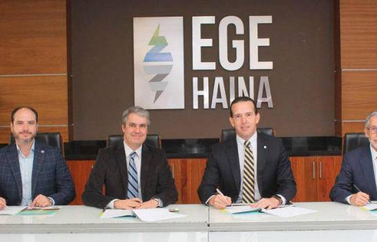 Falcondo y EGE Haina firman contrato de compra y venta de energía renovable