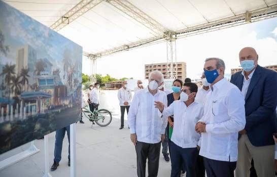 <p>Abinader visita construcci&oacute;n de complejo hotelero que a&ntilde;adir&aacute; 700 habitaciones</p>