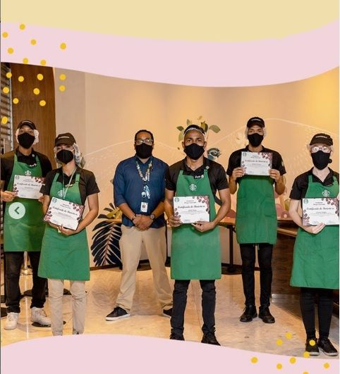<p>Starbucks Dominicana certific&oacute; nuevos baristas</p>