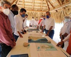 <p>Presidente Abinader anunci&oacute; que modificar&aacute; el M&aacute;ster Plan que ha encontrado para el desarrollo del turismo en Pedernales</p>