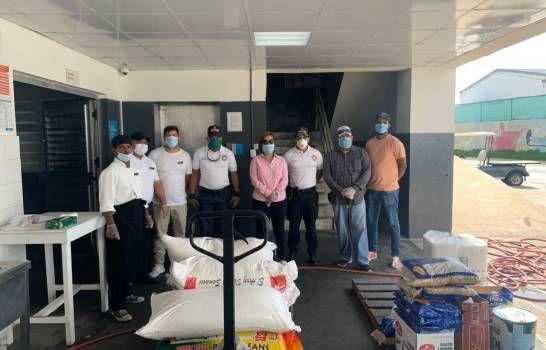 Asociación de tour operadores dona alimentos crudos para sectores de zonas turísticas