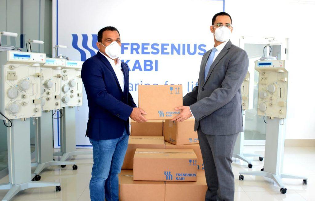 Fresenius Kabi dona cinco equipos y 200 kits de PLASMACELL