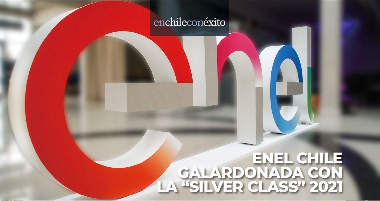 <h1>Enel Chile Galardonada con la ''Silver Class'' 2021</h1>