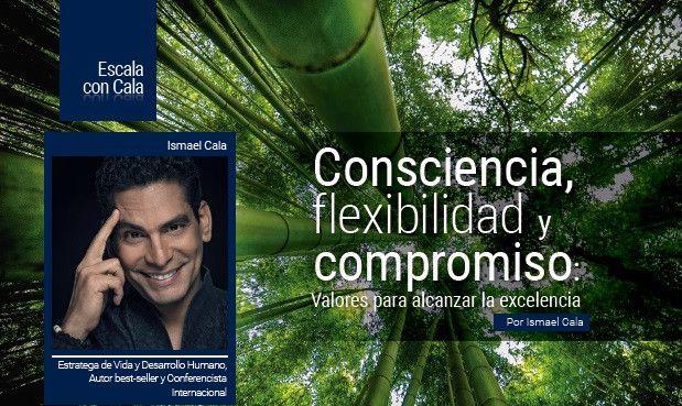Consciencia, flexibilidad y compromiso: Valores para alcanzar la excelencia