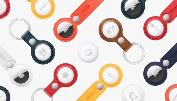 <p>Apple presenta su nuevo producto AirTag, una peque&ntilde;a ficha para encontrar objetos perdidos</p>
