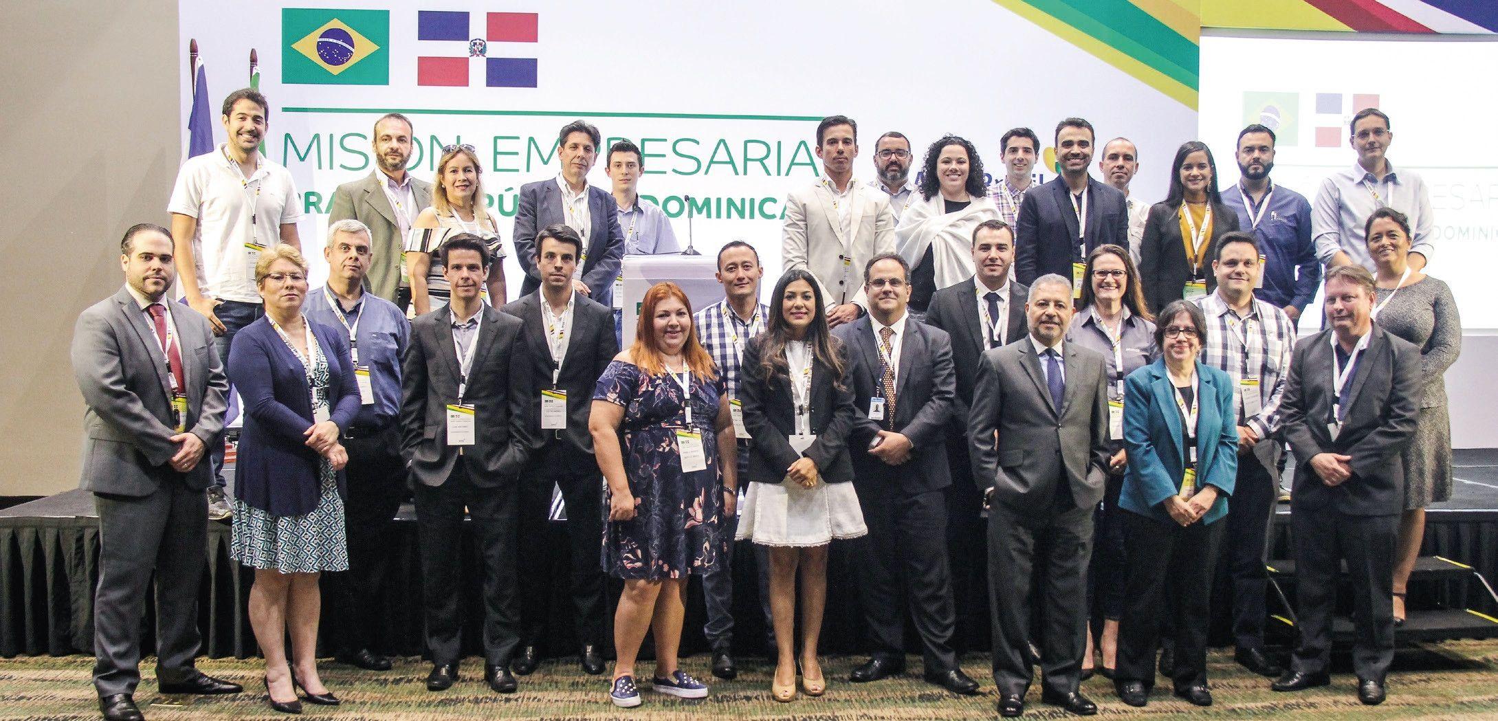 V.I.P. Empresariales:Misión Empresarial Brasil-República Dominicana