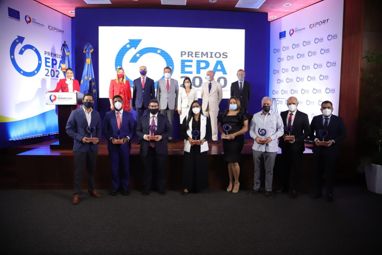<p><strong>Uni&oacute;n Europea, Caribbean Export y ProDominicana&nbsp;reconocen empresas exportadoras e importadoras en la III edici&oacute;n de Premios EPA 2020</strong></p>