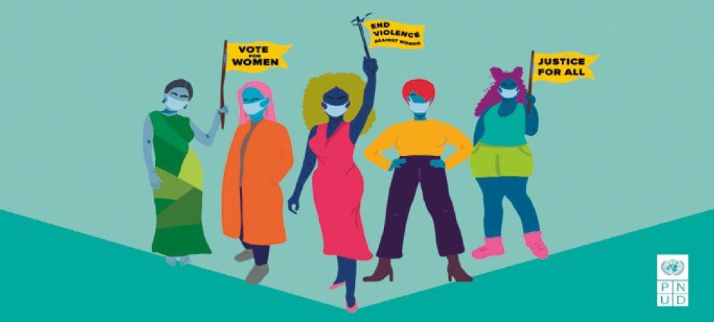 <p>Mujeres al centro de la&nbsp;recuperaci&oacute;n socioecon&oacute;mica</p>