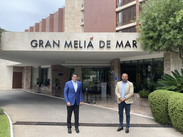 <p><strong>Collado se re&uacute;ne en Espa&ntilde;a con cadenas hoteleras; Abinader participa en di&aacute;logo con Grupo Meli&aacute;</strong></p>