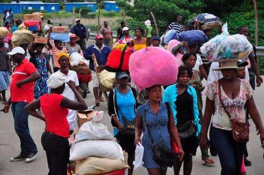 Mercado binacional en Dajabón se desarrolla con normalidad