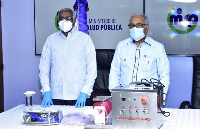 <p>INTEC entrega primeros ventiladores mec&aacute;nicos al Ministerio de Salud P&uacute;blica</p>