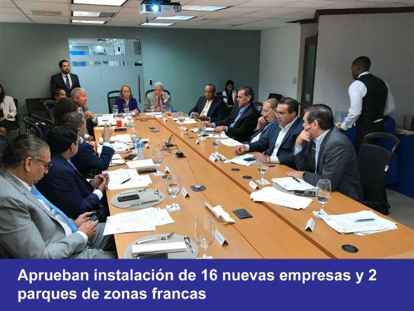 <p>El CNZFE aprueba permisos para 16&nbsp;nuevas empresas</p>