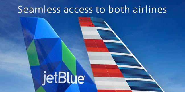 <p>American Airlines y Jetblue se unen para compartir vuelos</p>