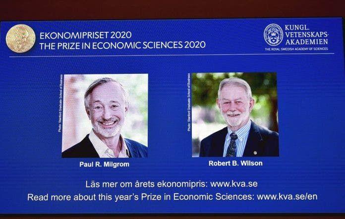 <p>Estadounidenses Milgrom y Wilson ganan el Nobel de econom&iacute;a</p>
