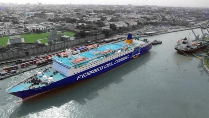 <p>El ferri reinici&oacute;&nbsp;sus operaciones con viajes entre Puerto Rico y Rep&uacute;blica Dominicana</p>