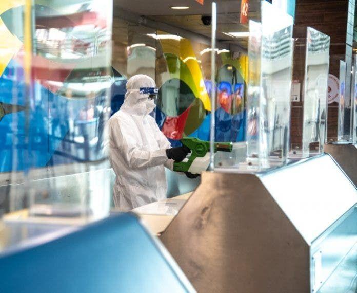 <p>&ldquo;BSafe&rdquo; limpia los aeropuertos</p>