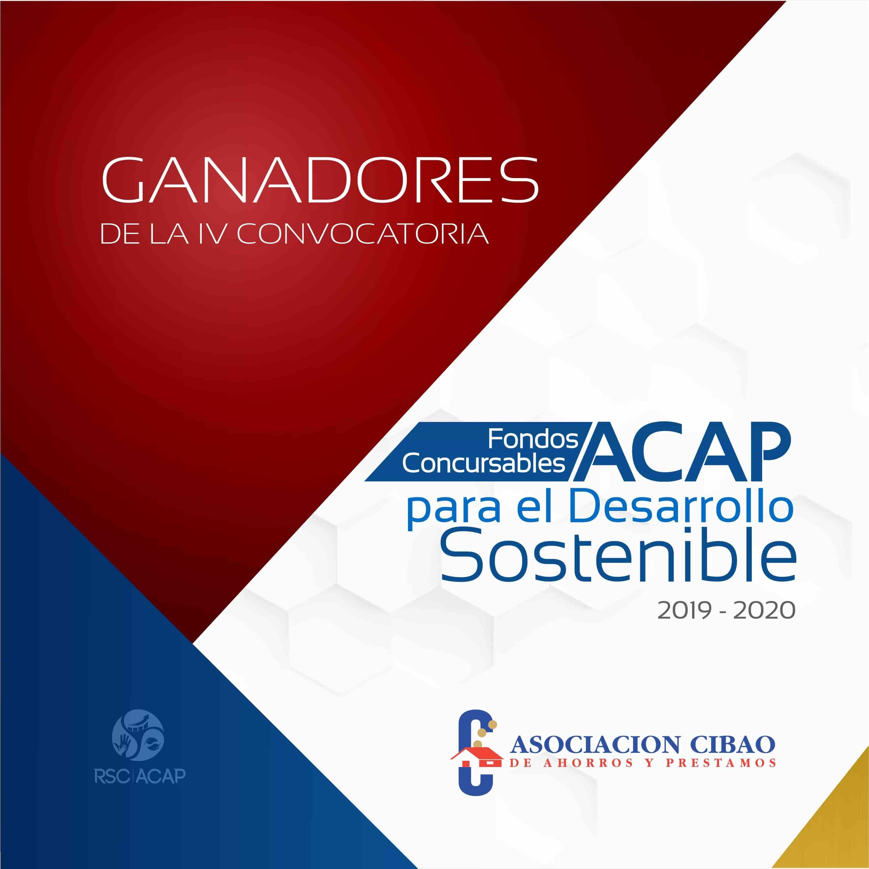 <p>Asociaci&oacute;n Cibao realiza la cuarta entrega de Fondos Concursables ACAP para el Desarrollo Sostenible</p>