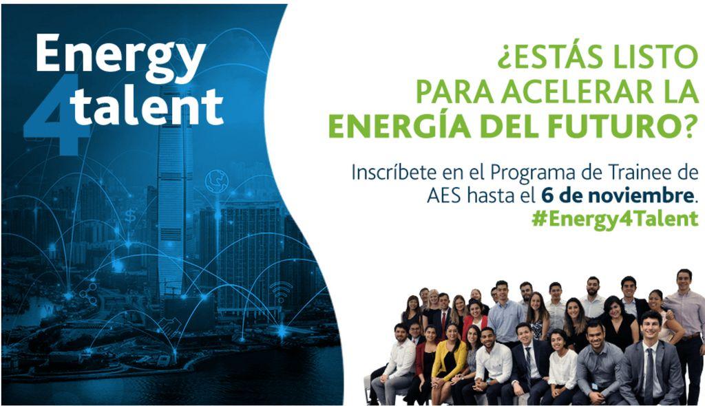 <p><strong>AES Corporation convoca a j&oacute;venes dominicanos a su programa global de &ldquo;Trainees&rdquo;</strong></p>