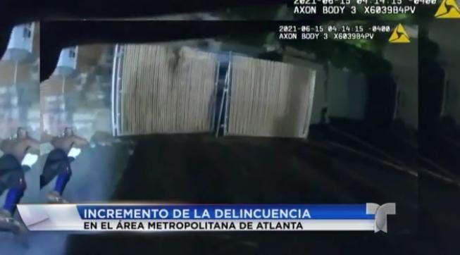 <h1>Se incrementan los robos en vehículos en el área metropolitana de Atlanta</h1>
